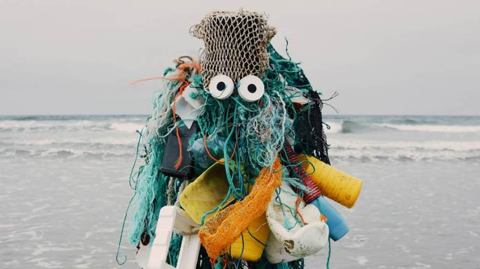 In Bretagne's quaint village of Plouharnel, France, once the surfers leave for winter, sea currents fill the seaside with trash. An invasion of plastic monsters, if you will. Photo by Céline Bellanger (France)