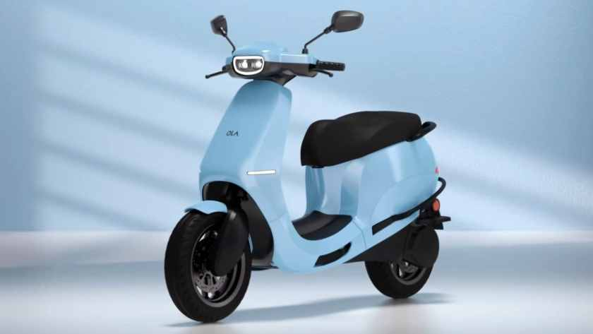 The Ola S1 Pro, with a 3.98 kWh pack, has the largest battery of any electric scooter on sale today. Image: Ola Electric