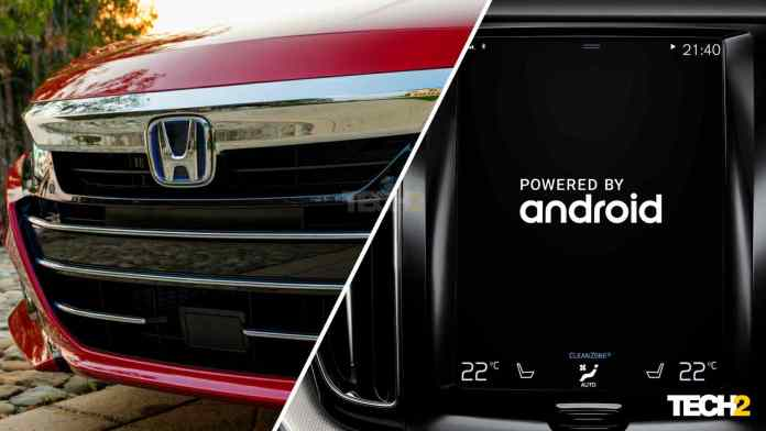 The first Honda to feature Android Automotive - an all-new vehicle - will be introduced in the US in the second half of 2022. Image: Honda and Volvo