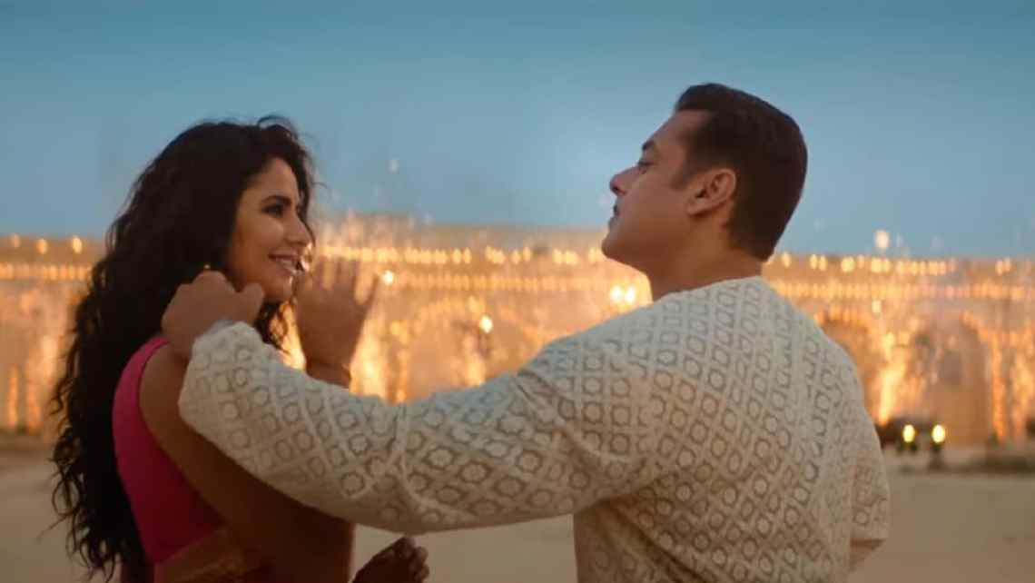Katrina Kaif and Salman Khan in a still from Bharat