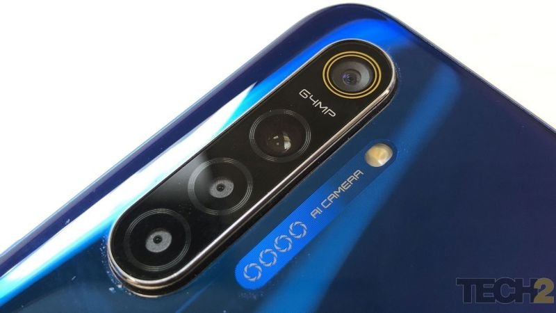 The Realme XT comes with a 64 MP primary camera + 8 MP ultrawide camera + 2 MP ultra macro camera + 2 MP depth sensor