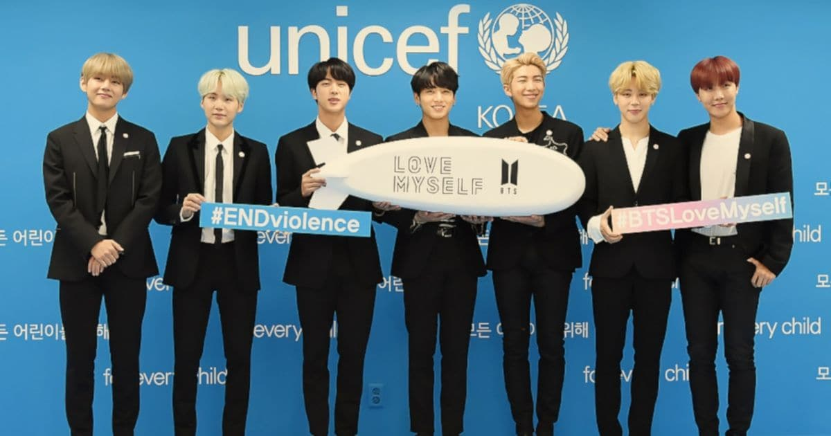 BTS' Love Myself campaign wins Integrated Campaigns and Events honour at 2020 UNICEF Inspire Awards- Entertainment News, Firstpost 87
