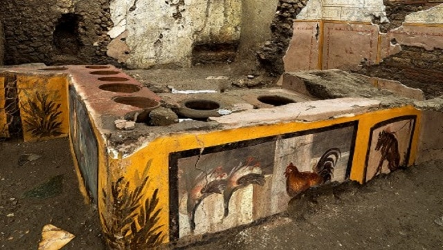 Food stall unearthed at Italy's Pompeii reveals new clues about snacking habits of ancient Romans- Technology News, Firstpost