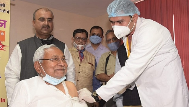Everyone in Bihar will get free COVID-19 vaccine, even at private hospitals, says Nitish Kumar after receiving first dose