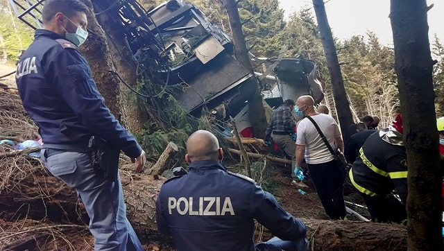 Twelve dead after cable car plunges to the ground near Mottarone summit; cause unclear-World News , Firstpost
