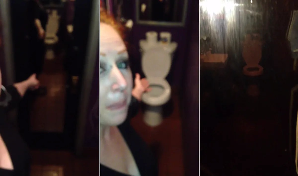Woman Discovers TwoWay Mirror in Bar Bathroom Bar Owner