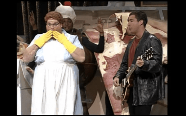 20 Chris Farley As The Lunch Lady Pictures And Ideas On Meta Networks