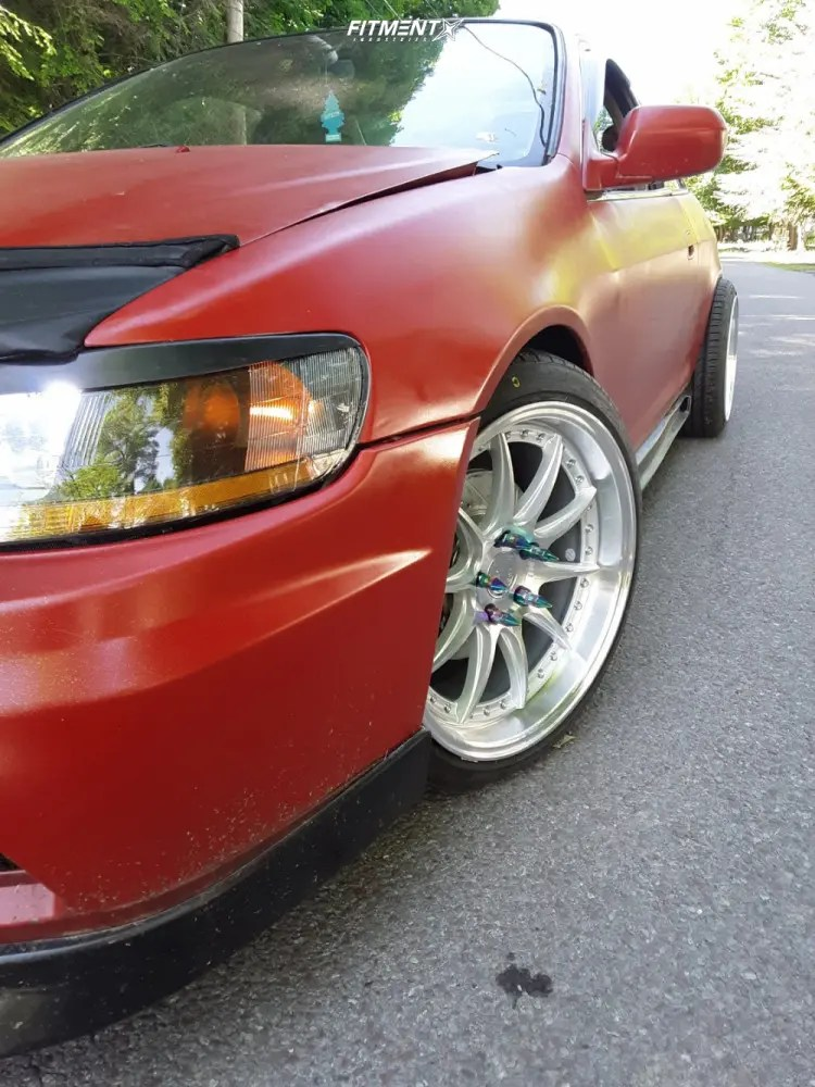 2001 Honda Accord Custom : honda, accord, custom, Honda, Accord, 18x8.5, Aodhan, Nankang, 215x40, Coilovers, 1124972, Fitment, Industries