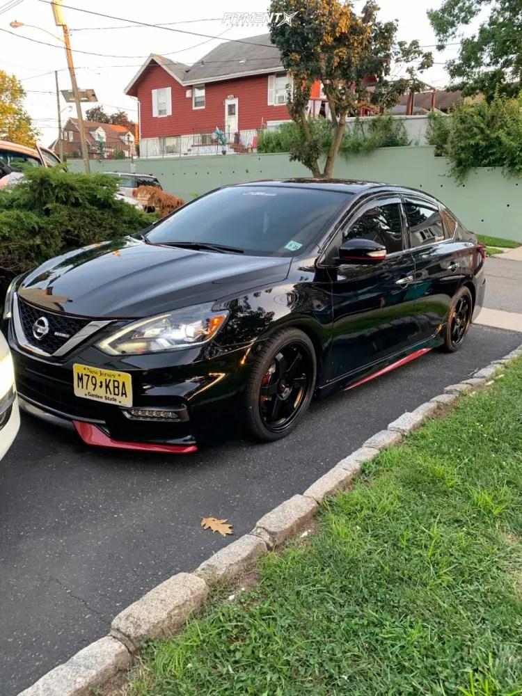 Nissan Sentra Black Rims : nissan, sentra, black, Nissan, Sentra, Nismo, AVID1, Tires, 215x40, Coilovers, 1231498, Fitment, Industries