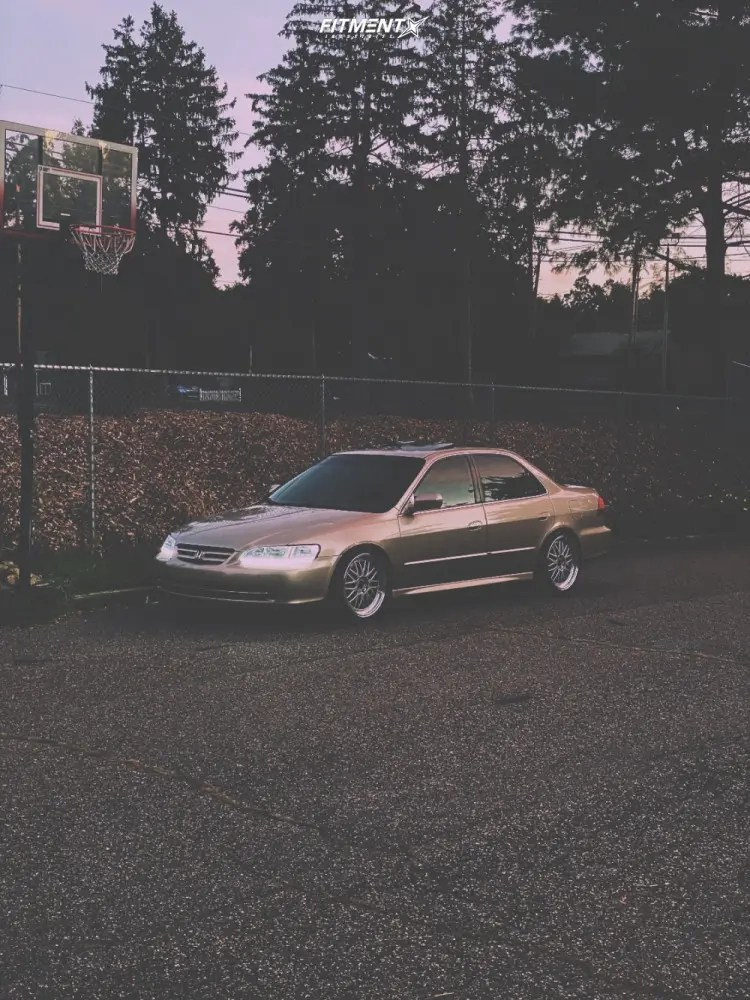 2001 Honda Accord Custom : honda, accord, custom, Honda, Accord, Jnc005, Tires, 225x45, Coilovers, 1287412, Fitment, Industries