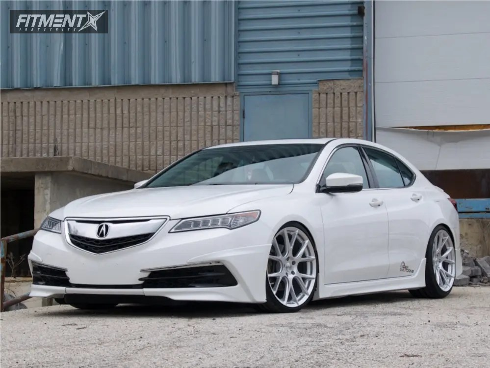 2016 Acura Tlx Vossen Vfs6 D2 Racing Coilovers Fitment