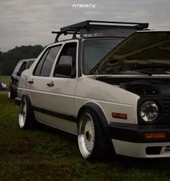16 1992 jetta volkswagen hr coilovers jnc jnc004s white [ 946 x 1000 Pixel ]