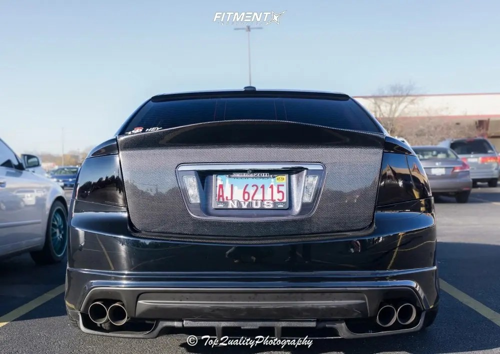 2008 acura tl type s with 18x10 work
