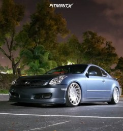 1 2005 g35 infiniti base bc racing coilovers vossen vle 1 polished [ 1000 x 800 Pixel ]