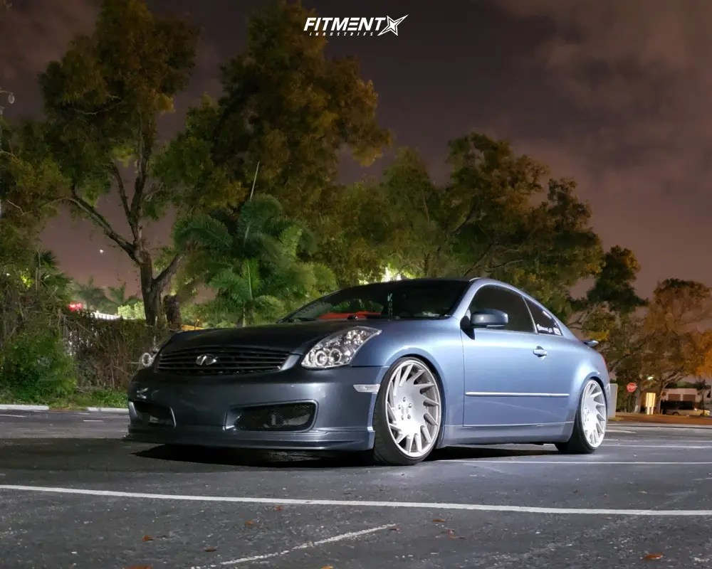 hight resolution of 1 2005 g35 infiniti base bc racing coilovers vossen vle 1 polished