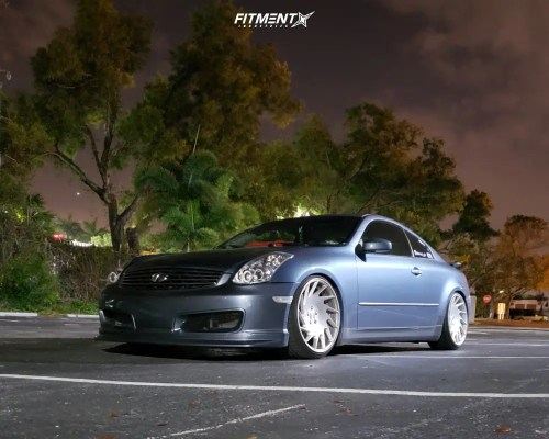 small resolution of 1 2005 g35 infiniti base bc racing coilovers vossen vle 1 polished