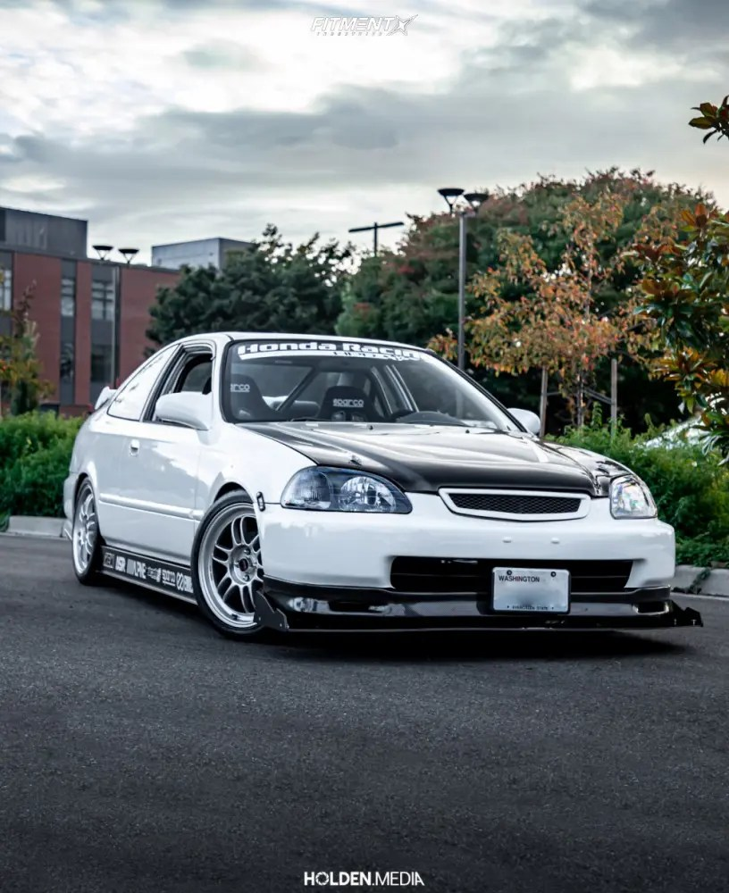 98 Honda Civic Si : honda, civic, Honda, Civic, Enkei, BFGoodrich, 205x40, Coilovers, 826982, Fitment, Industries