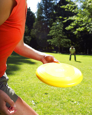ultimate frisbee could be
