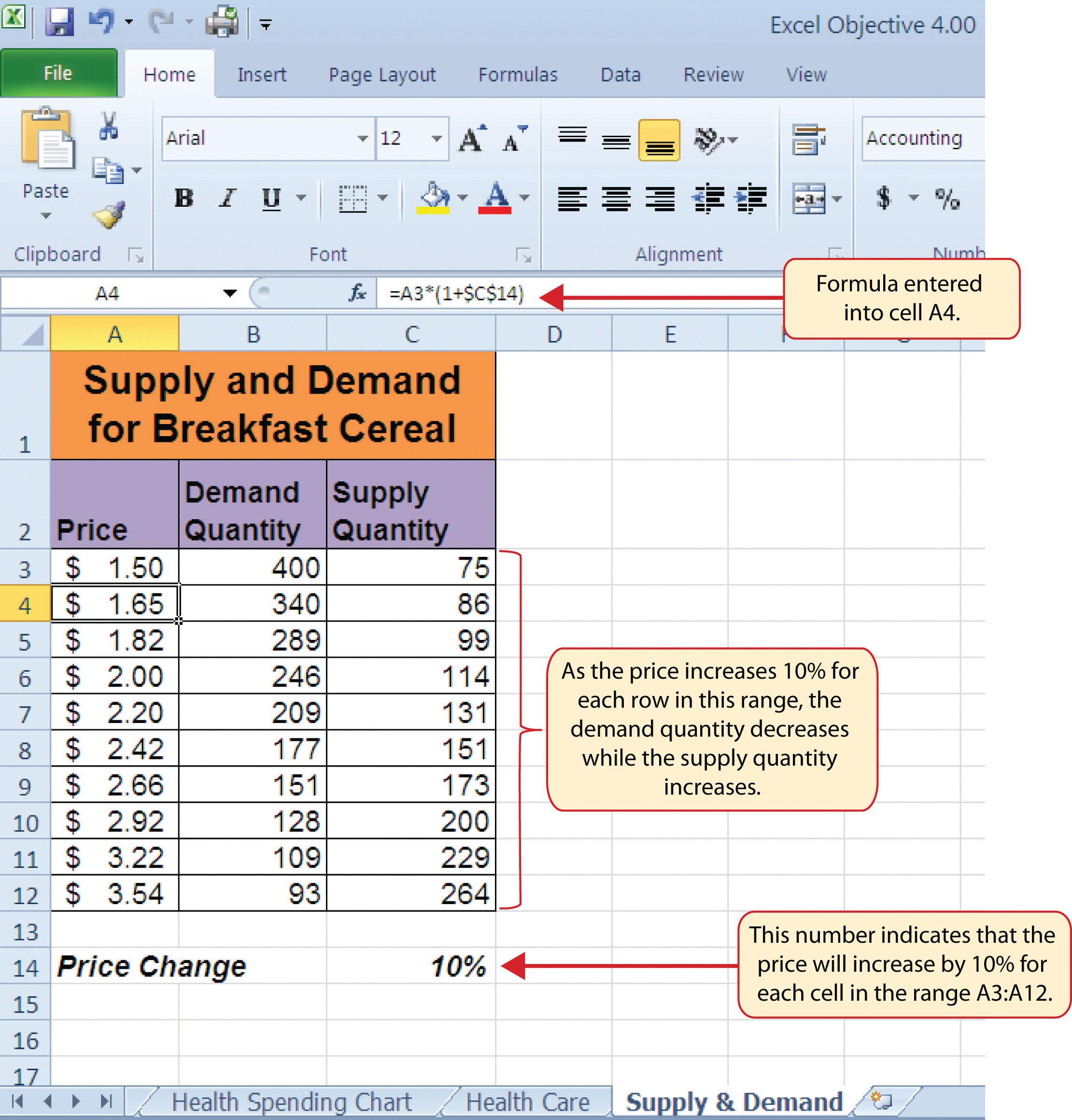 Elasticity Worksheet Answers