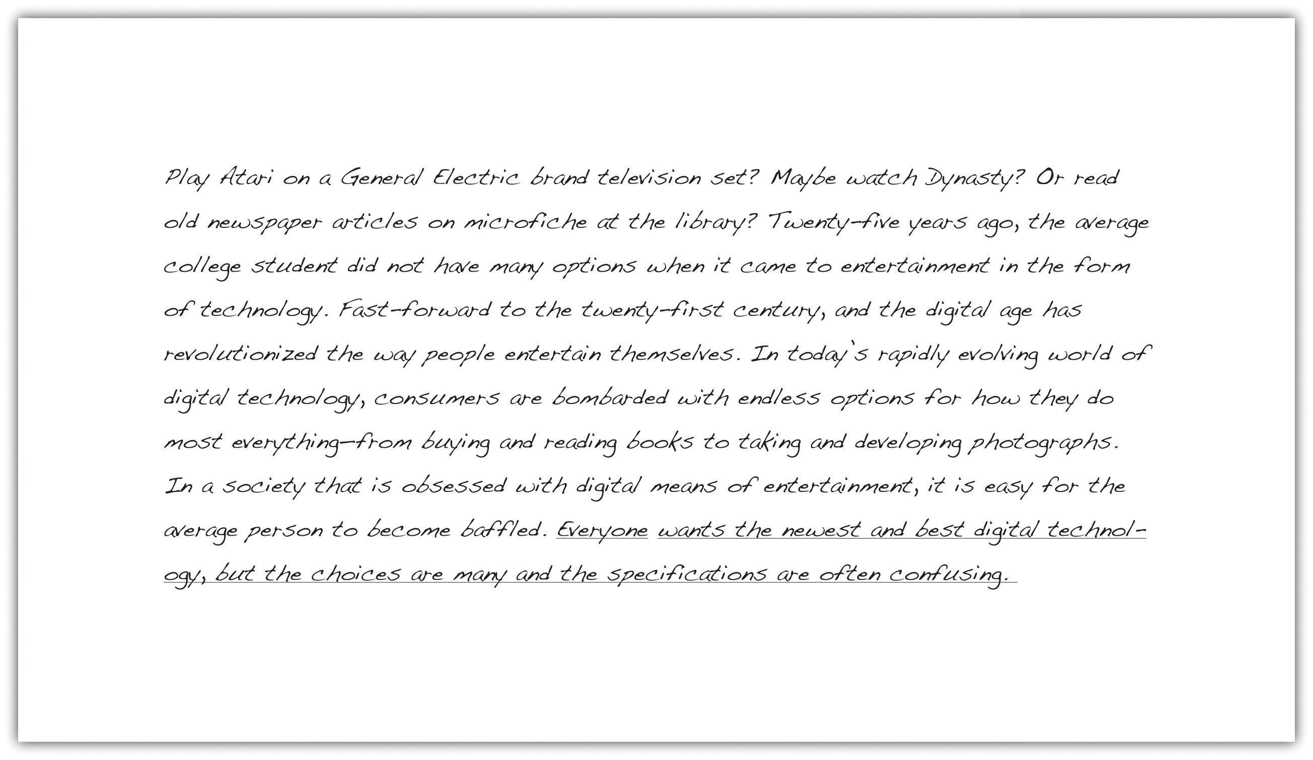 Example Of A Good Argumentative Essay Proposal Argument Essay