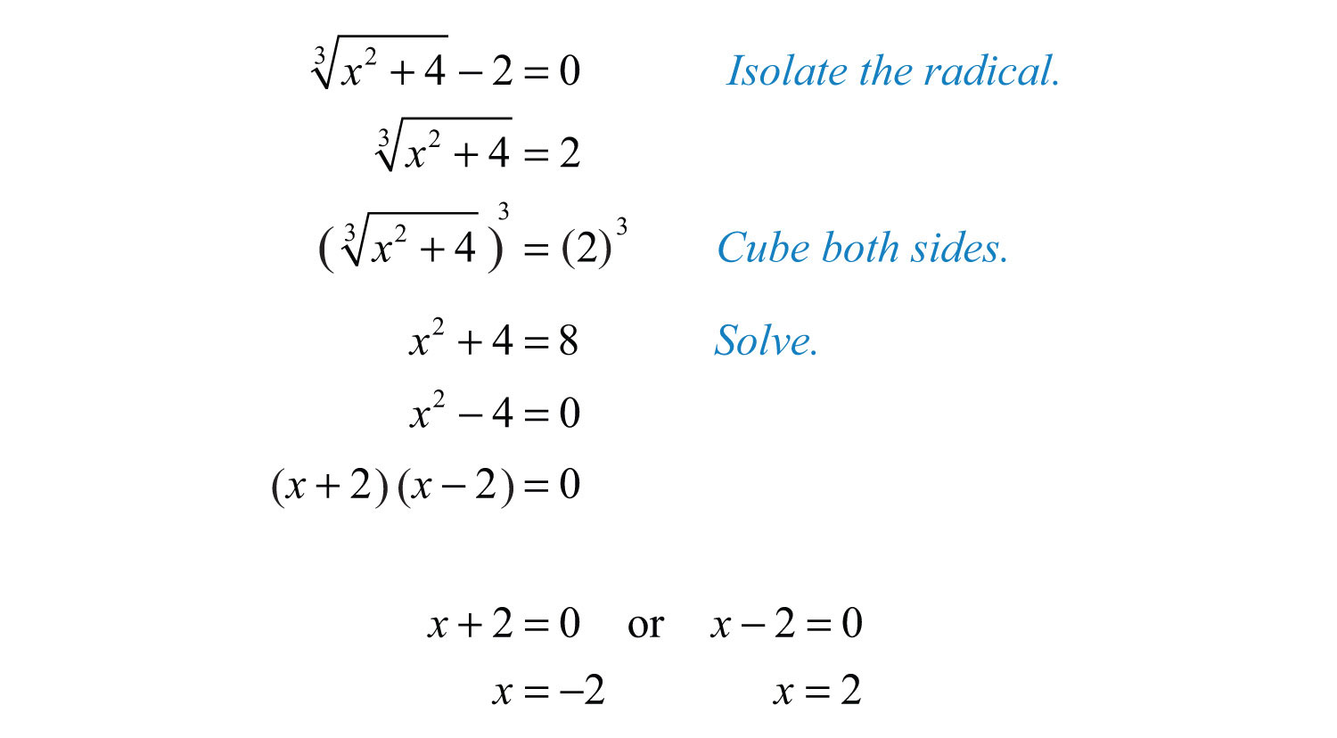 Solving Radical Equations Word Problems Worksheet