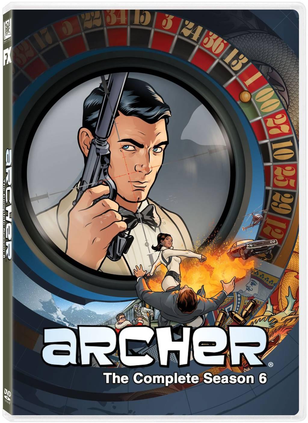Archer The Complete Season Six Dvd Review Archer