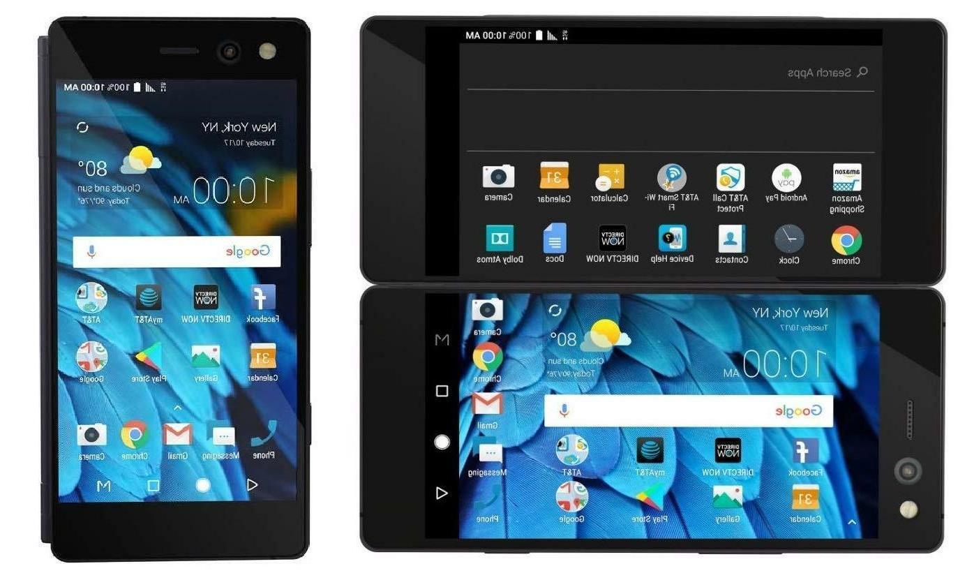 ZTE Axon M Z999 64GB Black AT&T GSM