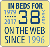 In Beds for 28 years, on the web since 1996