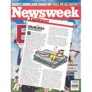 Newsweek found FloBeds early on!