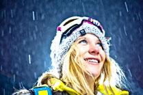 Hannah Teter in Aspen X Games for Gold