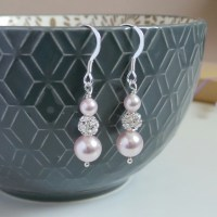 Ella Blush Pink Earrings