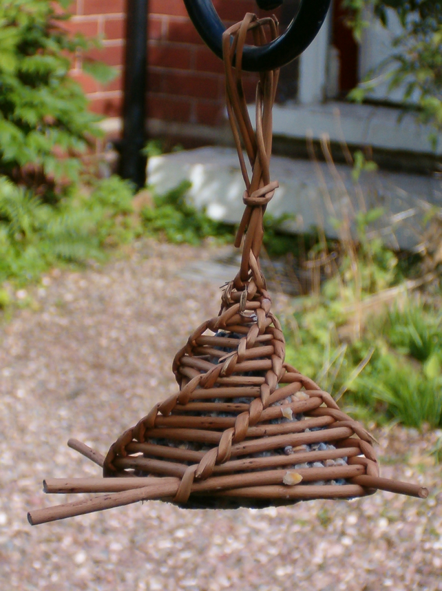 Handmade Willow Bird Feeder  Folksy