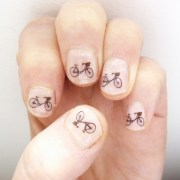 bicycle nail art stickers - folksy