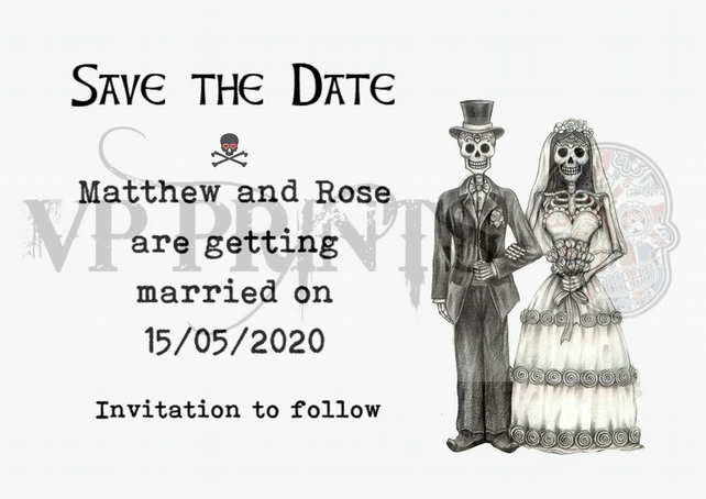 save the date a6