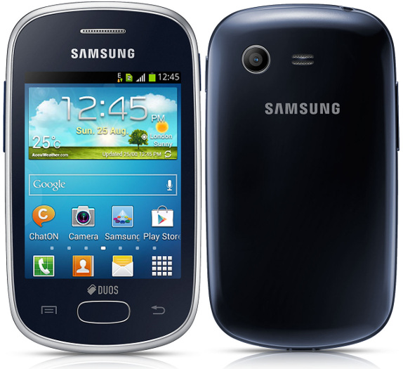 Samsung Galaxy Star Duos Running Android 41 Launching In