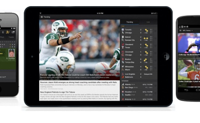 Yahoo Sports 4 0 Update For Android Iphone And Ipad