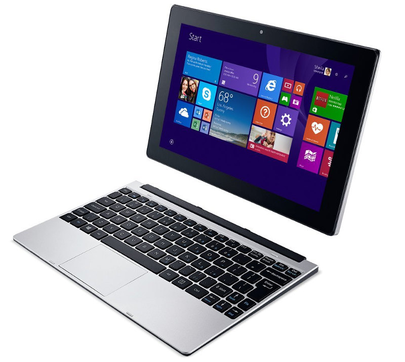 Acer One 10 Inch Windows 8 1 2 In 1 Launched In India For