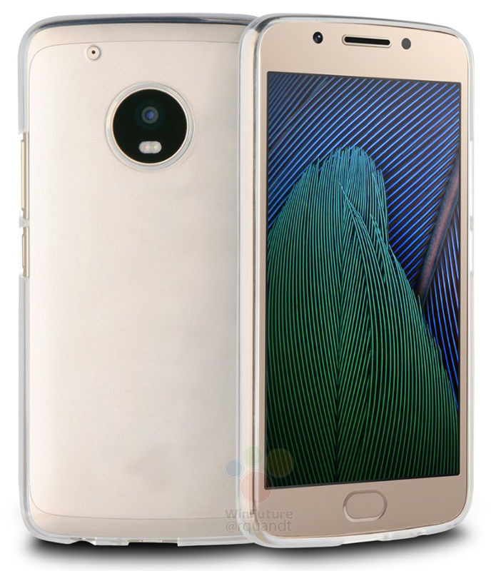 Moto G5 Plus Case render