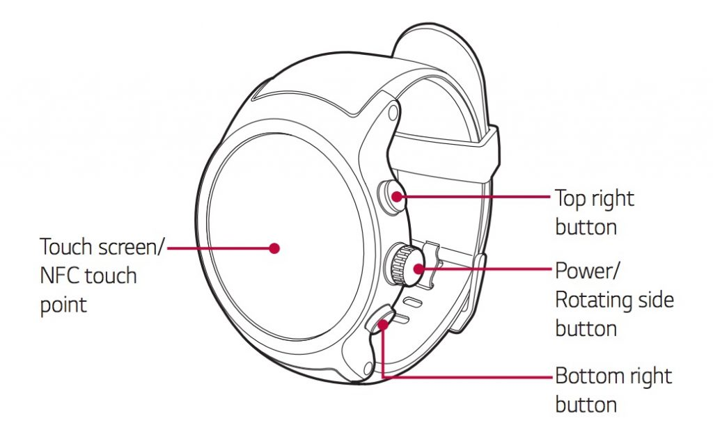 LG Watch Sport, Watch Style user manuals show Google