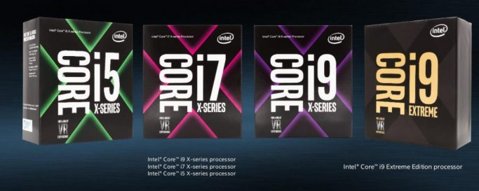Intel Core X Series Processor Family 1024x409 - Intel Core i9 Extreme along with Code War: New era of Processors
