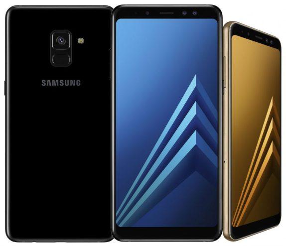 Samsung Galaxy A8 and Galaxy A8 Plus