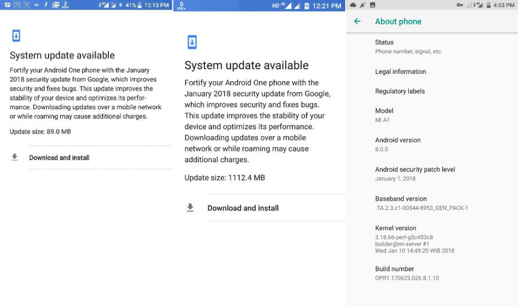 Xiaomi Mi A1 Android Oreo update resumes with January security patch ...