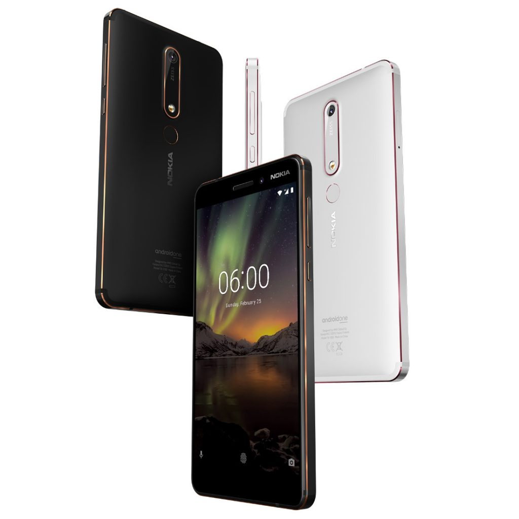 New Nokia 6 Android One smartphone with 5.5-inch 1080p display. Snapdragon 630. ZEISS optics. Android 8.0 announced | The Sheen Blog