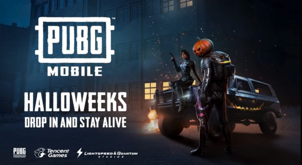 PUBG Mobile 090 Halloween Update Starts Rolling Out