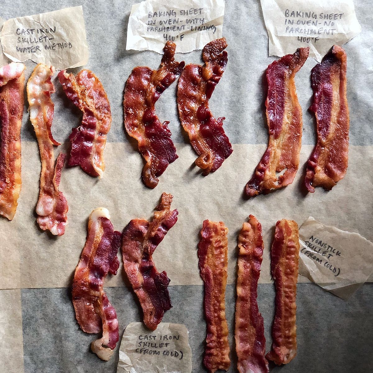 how to cook bacon in the oven pan