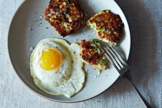 Potato Scallion Cakes on Food52