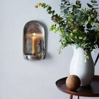 Pewter Wall Sconce with Candle Snuffer on Food52