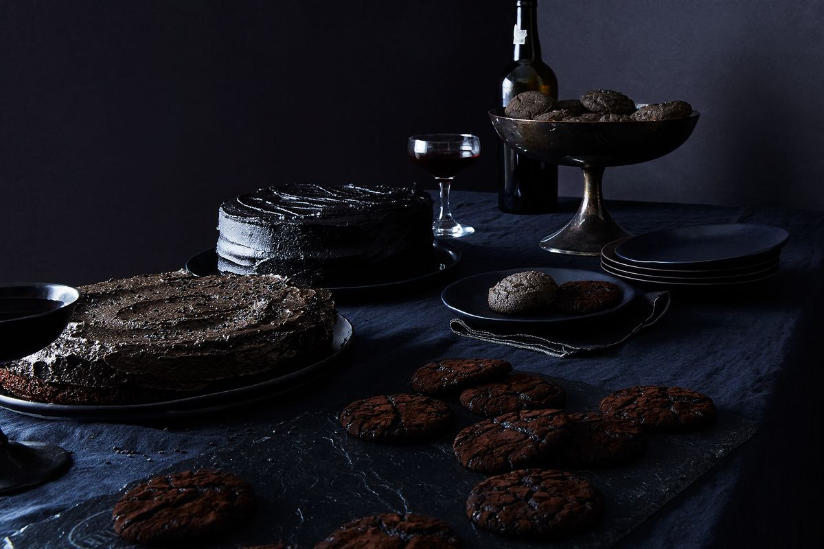 how to set up a kitchen pantry affordable table sets sort-of spooky halloween desserts get super stormy with ...