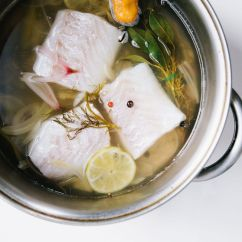 How To Set Up A Kitchen Pantry Fix Faucet Poach Fish -- Dinner Ideas