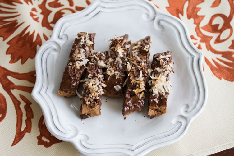 kitchen stand mixer cabinet accessories chocolate coconut biscotti recipe on food52